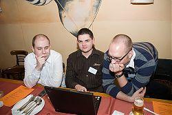 Foto auf dem 4. Webmontag Hannover